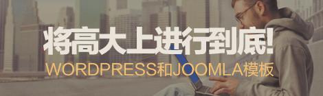 将高大上进行到底!40款WordPress和Joomla模板