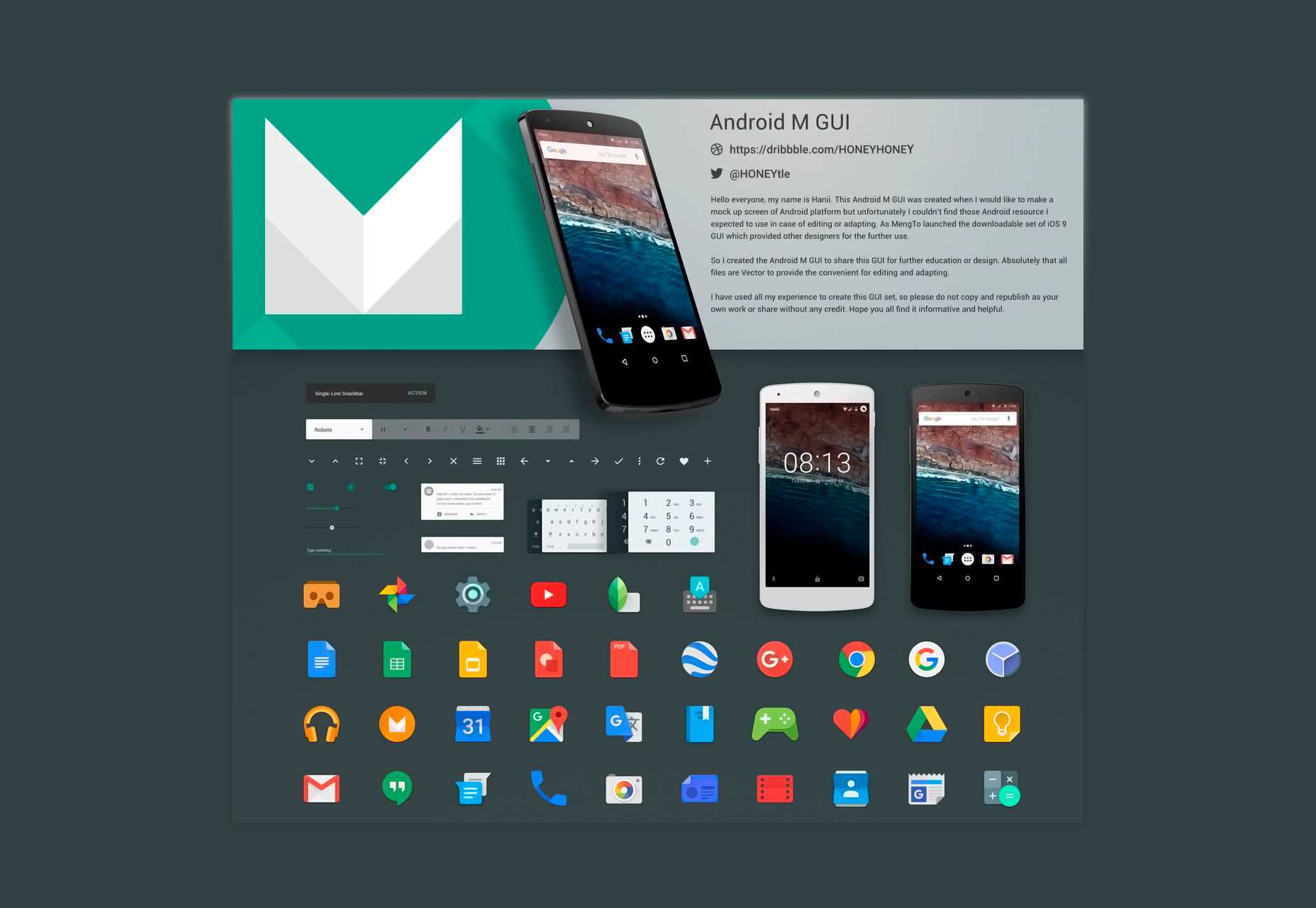 android-m-sketch-gui-kit